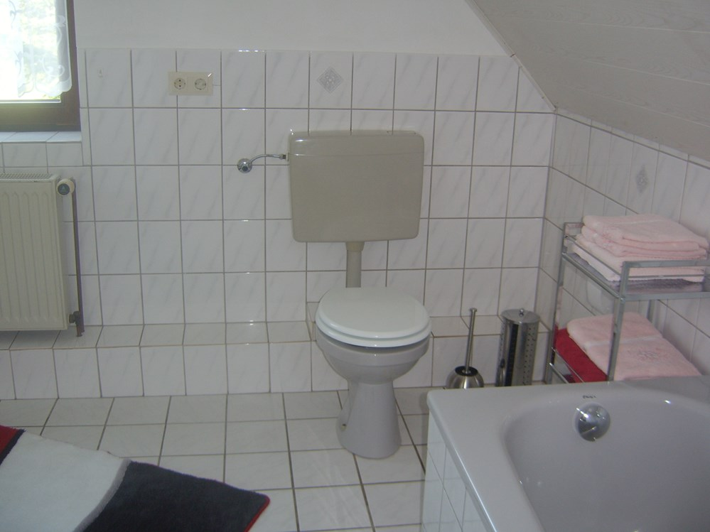 Monteurzimmer: Bad Studio-Appartement - Haus Weda